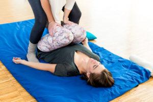 Körpertherapie Behandlung