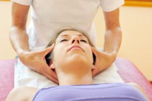 Ostheopatische Behandlung